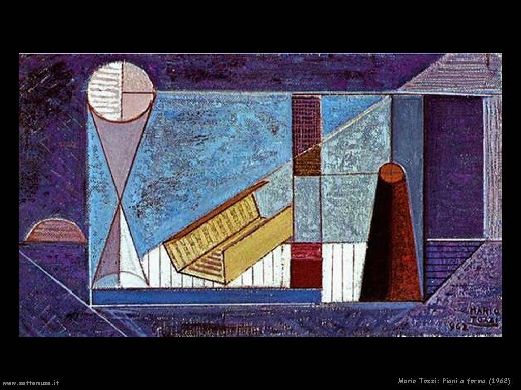 Mario Tozzi Piani e forme (1962)
