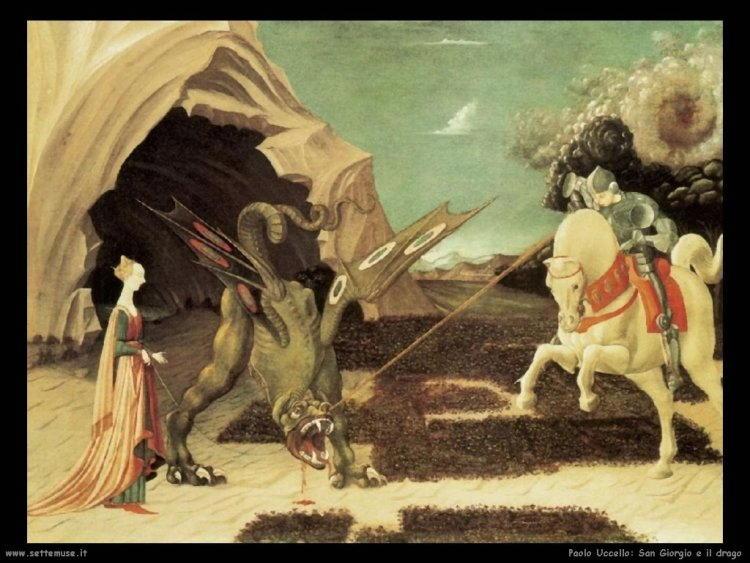 Storia di san Giorgio e il drago nell'arte