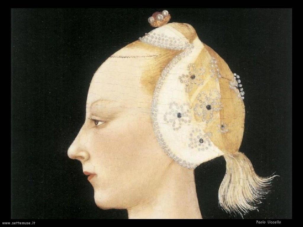 Paolo Uccello Profilo di Dama