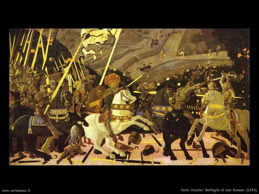 Paolo Uccello La battaglia di San Romano (1454)