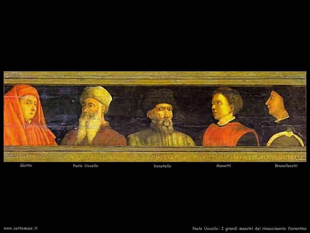 Paolo Uccello I Maestri del Rinascimento Fiorentino