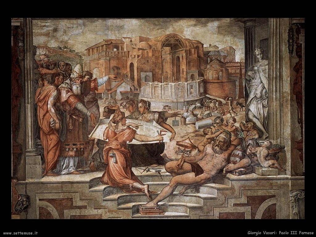 Giorgio Vasari paolo terzo farnese