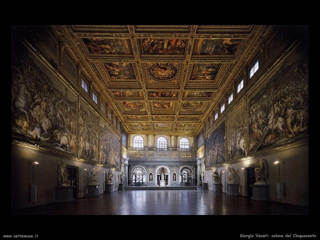 Giorgio Vasari Salone del cinquecento