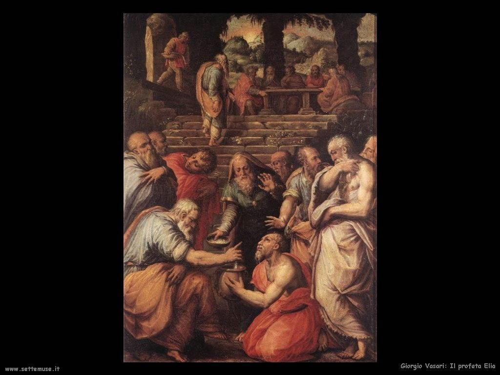 Giorgio Vasari Profeta Elia