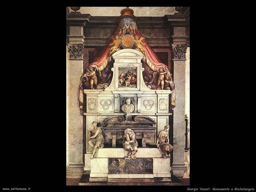 Giorgio Vasari Monumento a Michelangelo