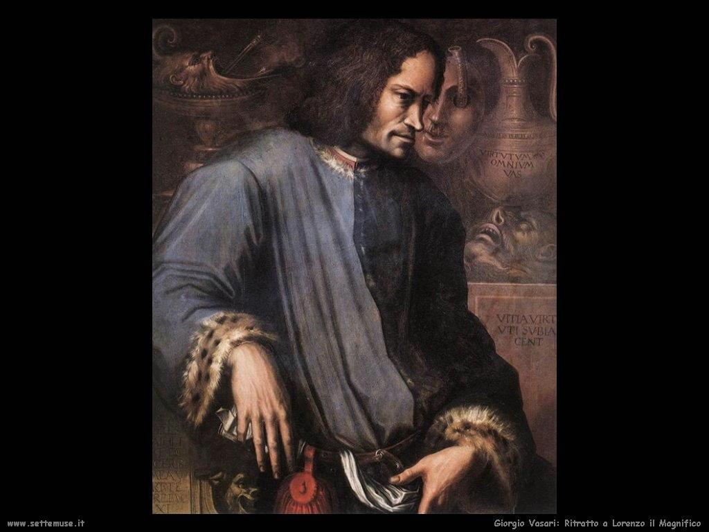 Giorgio Vasari Ritratto di Lorenzo il Magnifico