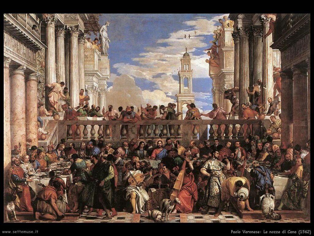 Paolo Veronese Le nozze di Cana (1562)
