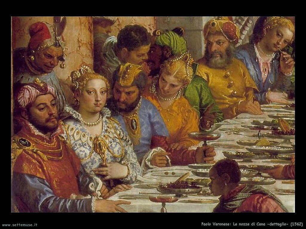 Le nozze di Cana (1562)dettaglio
