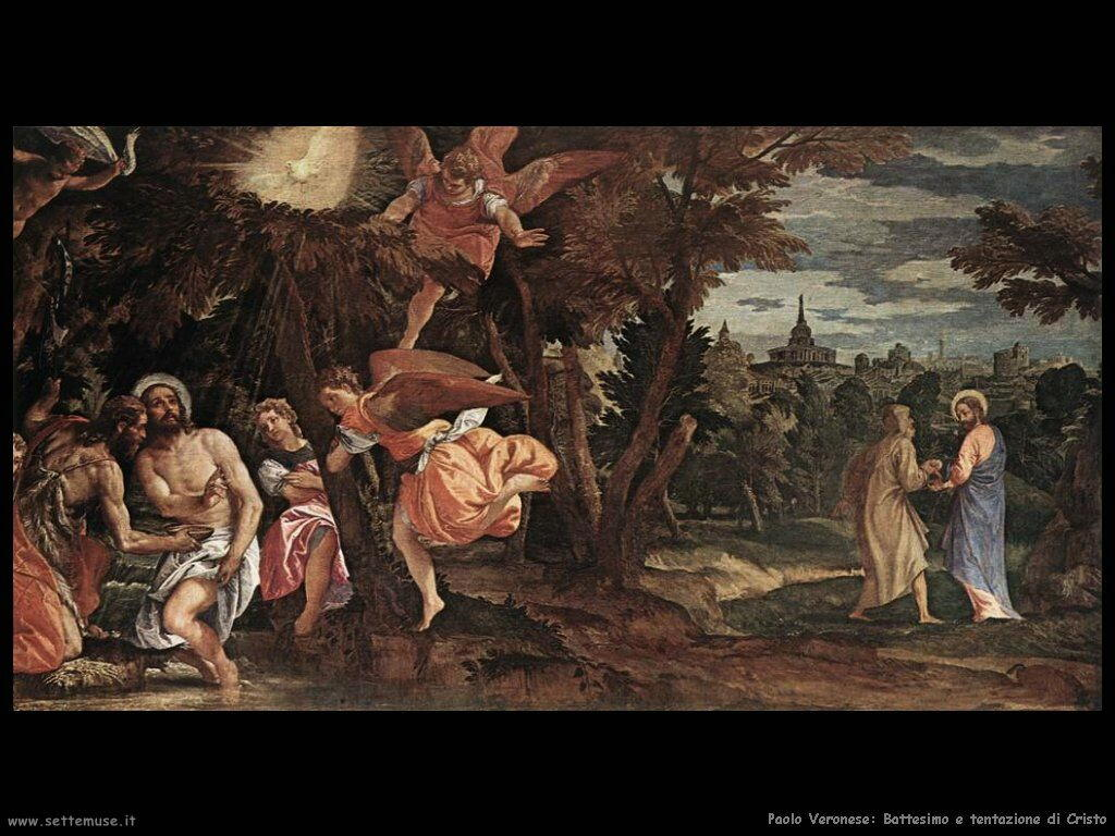 Battesimo e tentazione di Cristo
