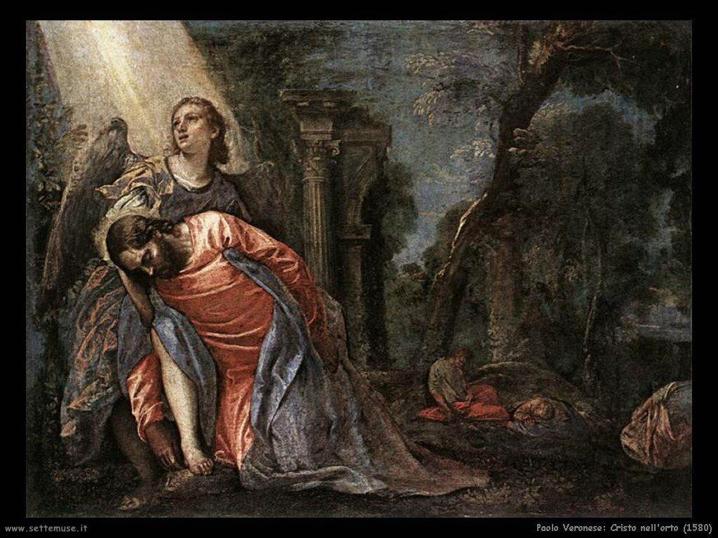 Paolo Veronese Cristo nell'orto di Getsemani (1584)
