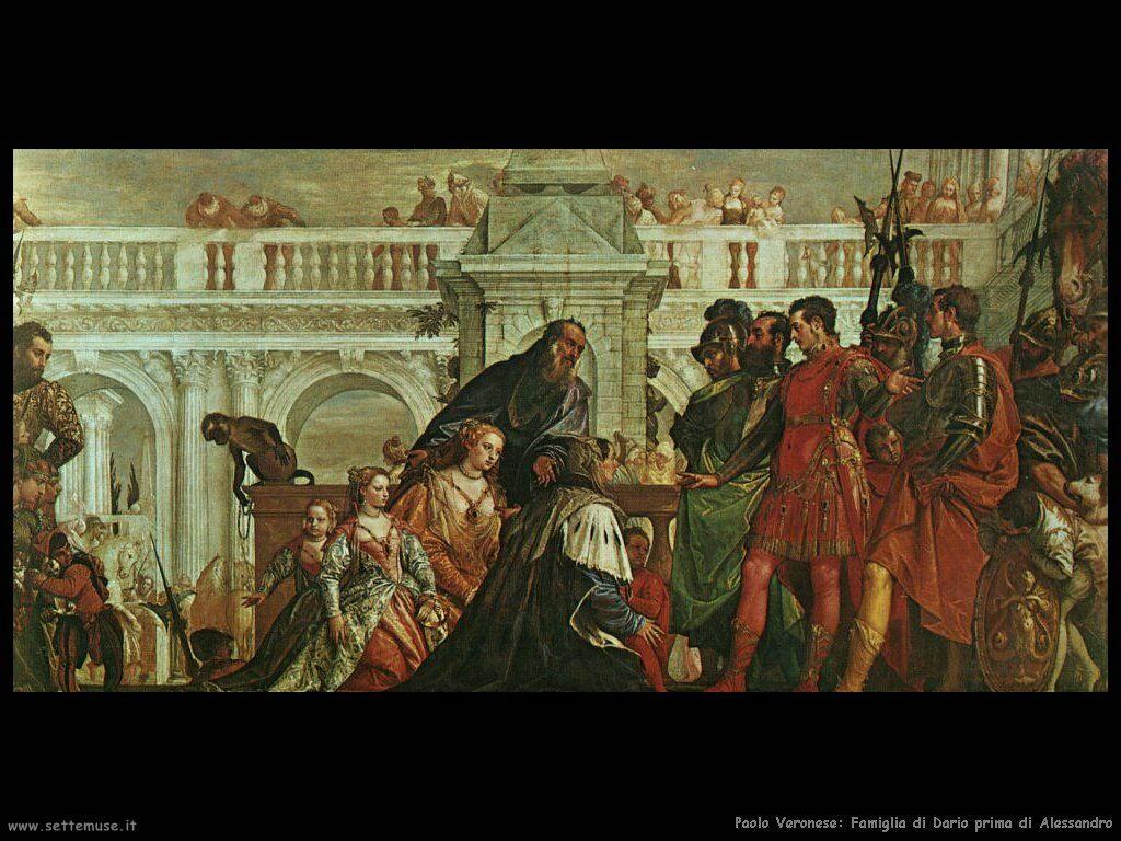 Paolo Veronese Famiglia di Dario prima di Alessandro