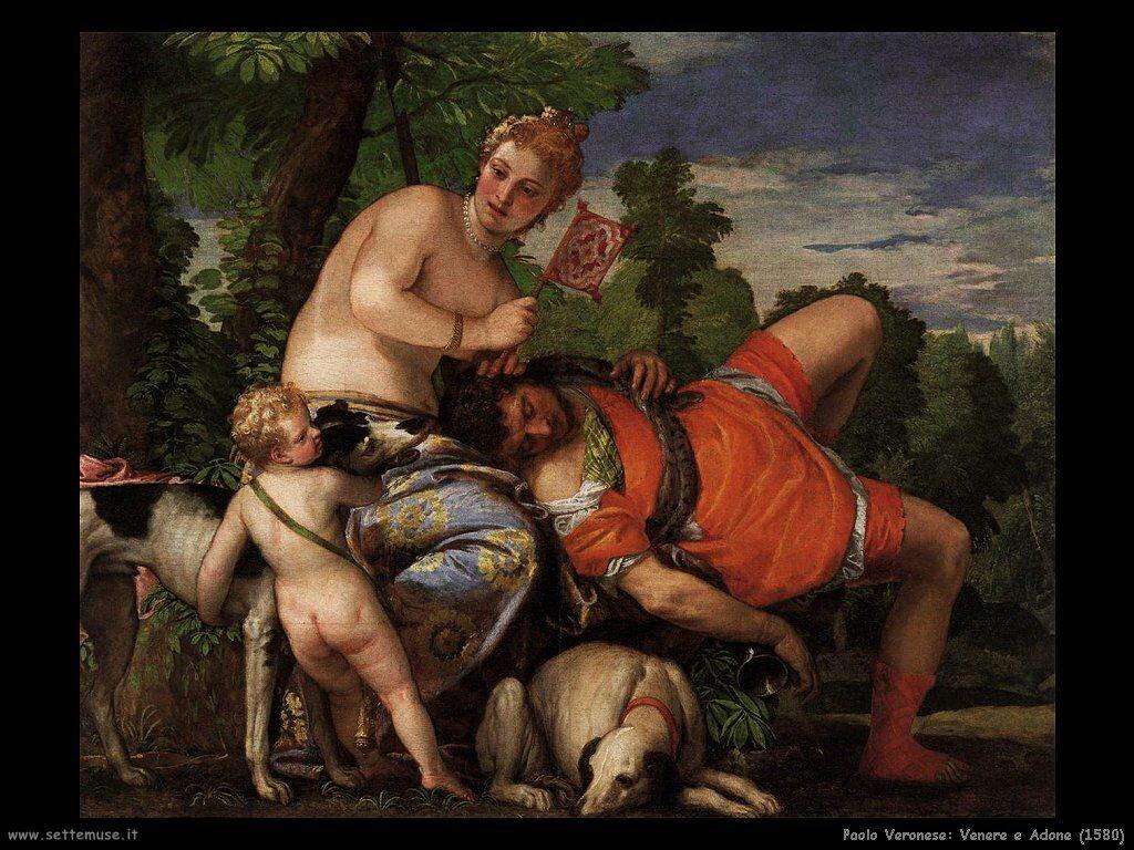 Venere e Adone (1580)