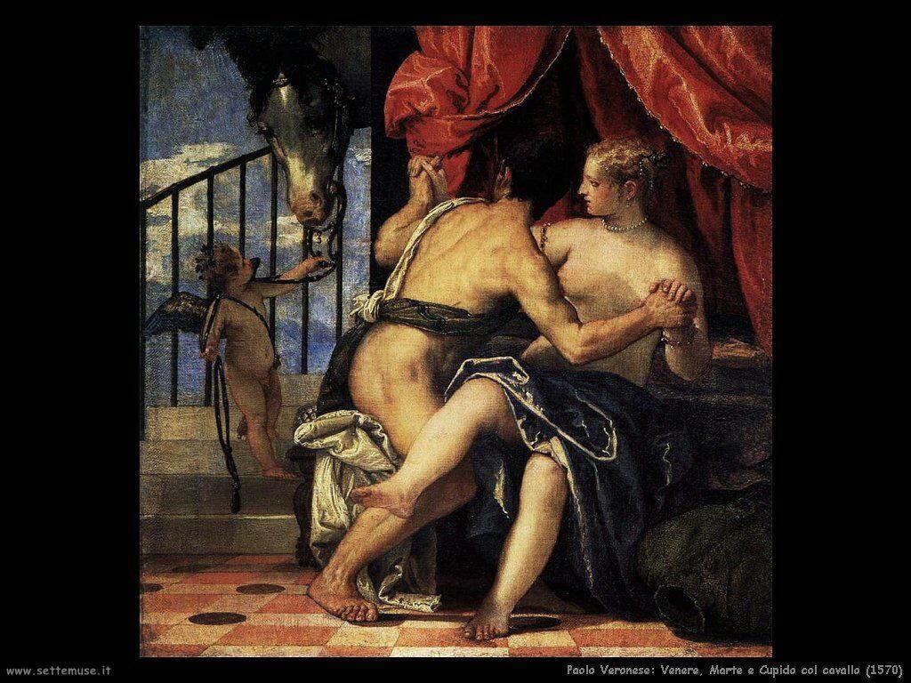 Venere e Marte con Cupido e il cavallo (1570)