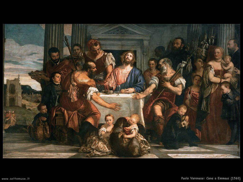 Cena a Emmaus (1560)