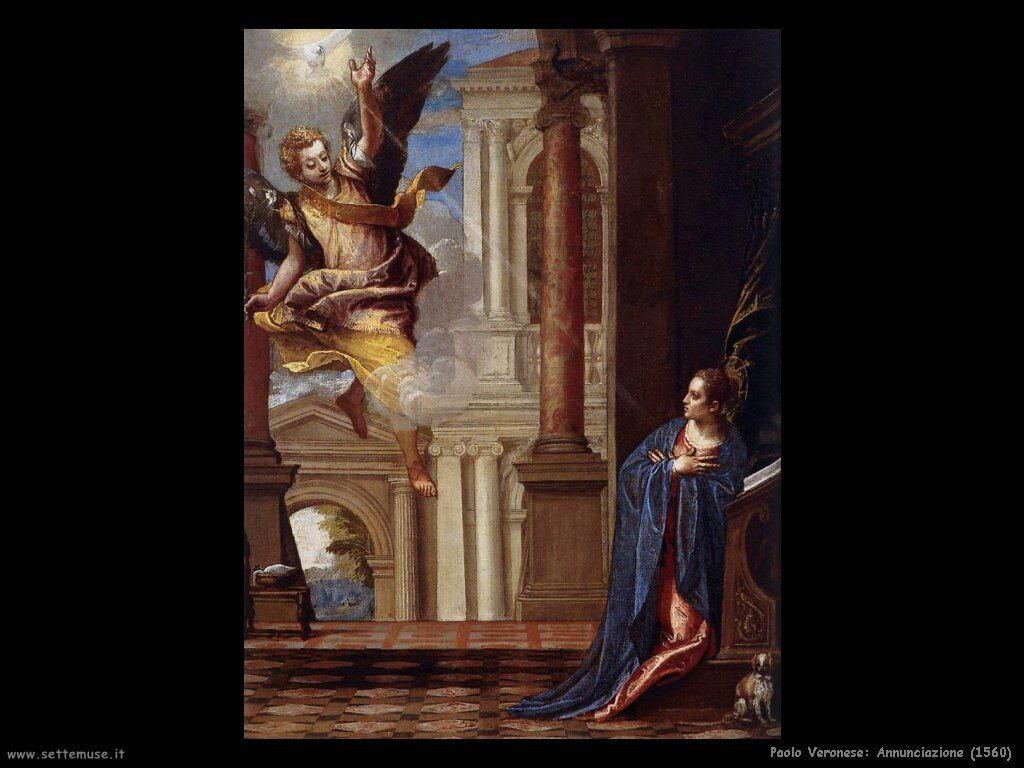 Paolo Veronese Annunciazione (1560)