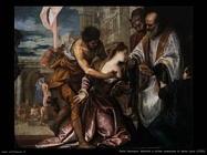 Paolo Veronese Martirio e ultima comunione di santa Lucia (1582)
