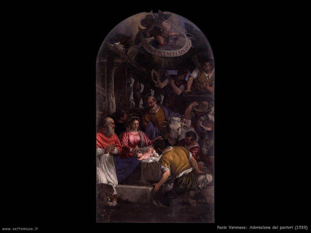 Adorazione dei pastori (1583)