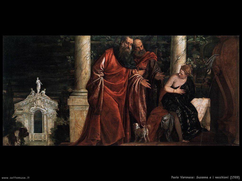 Paolo Veronese Susanna e i vecchioni (1588)