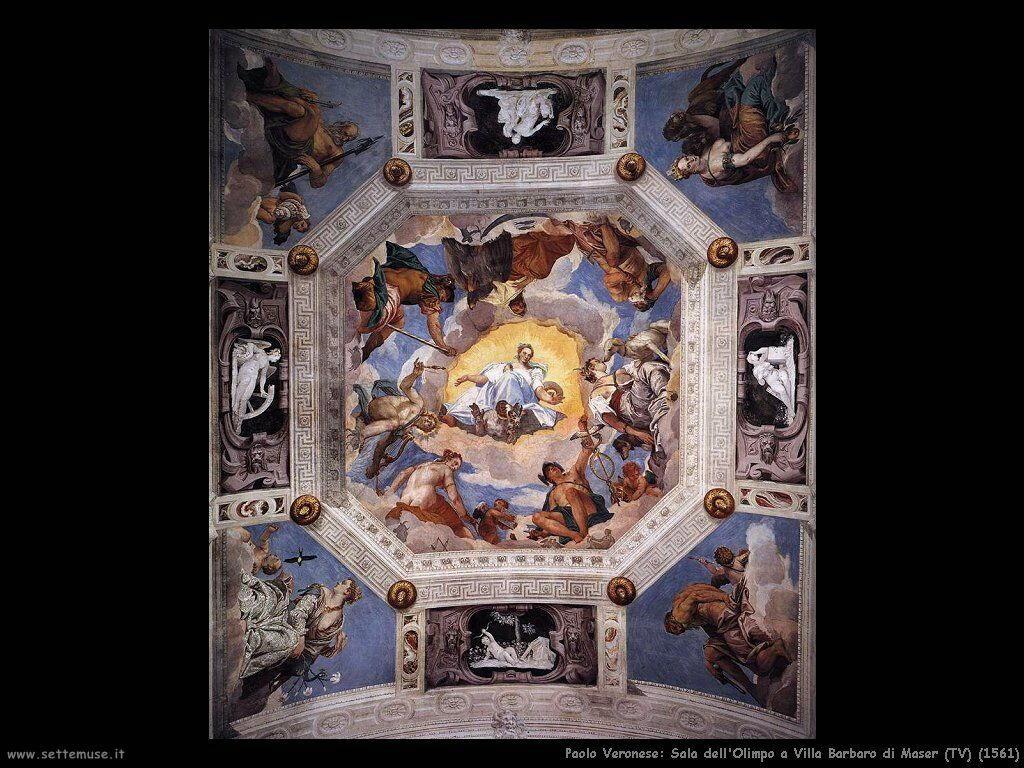 Paolo Veronese Sala dell'Olimpo (1561)