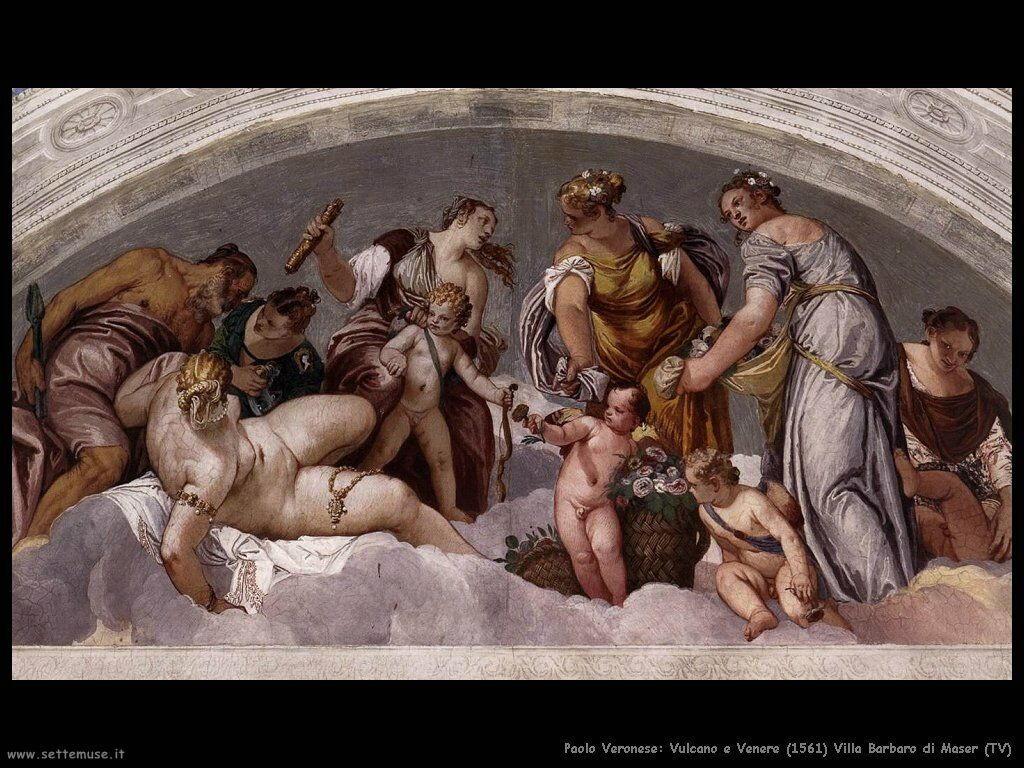 Paolo Veronese, Vulcano e Venere 1561