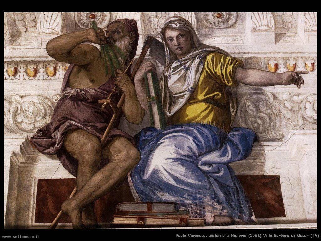 Saturno e Historia (1561)