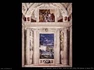 Parete di fondo, stanza del cane (1561)