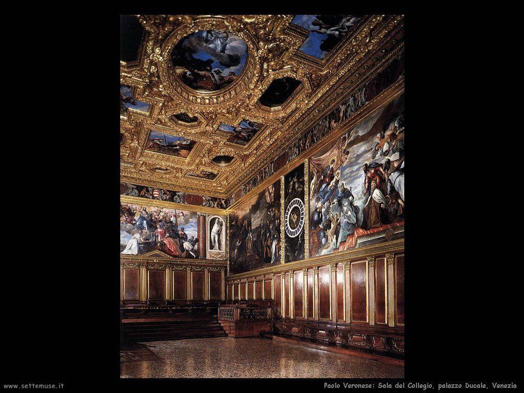 Paolo Veronese Sala del collegio
