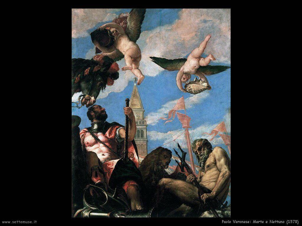 Marte e Nettuno (1578)