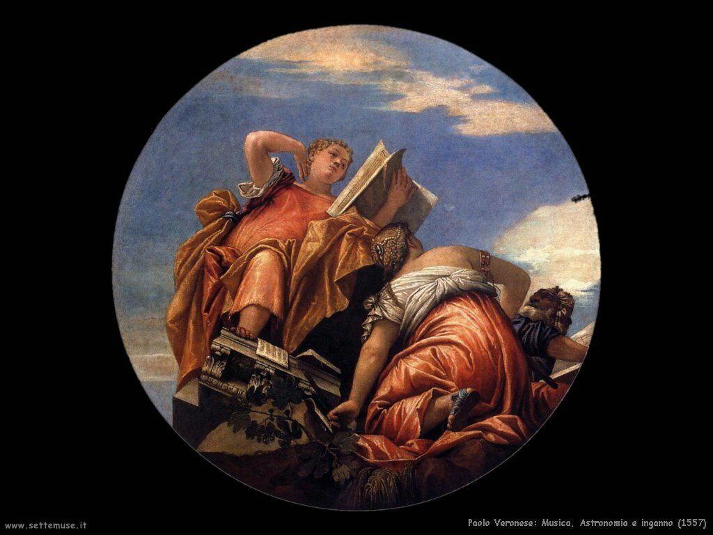 Paolo Veronese Musica, astronomia e inganno (1557)