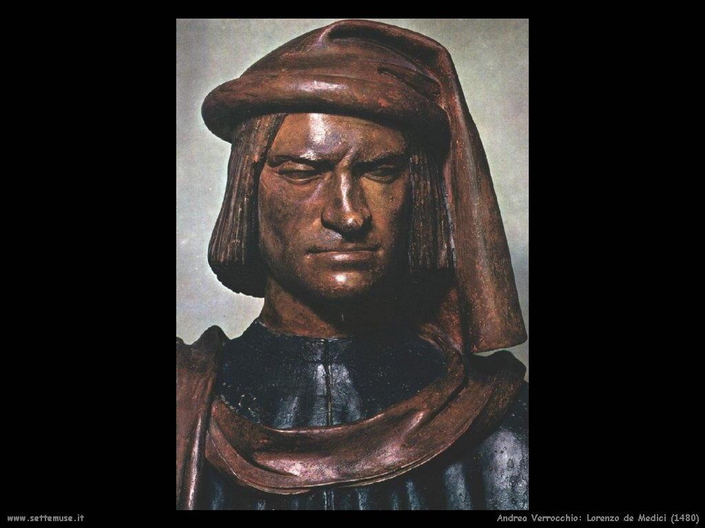 Andrea Verrocchio Lorenzo de Medici (1480)