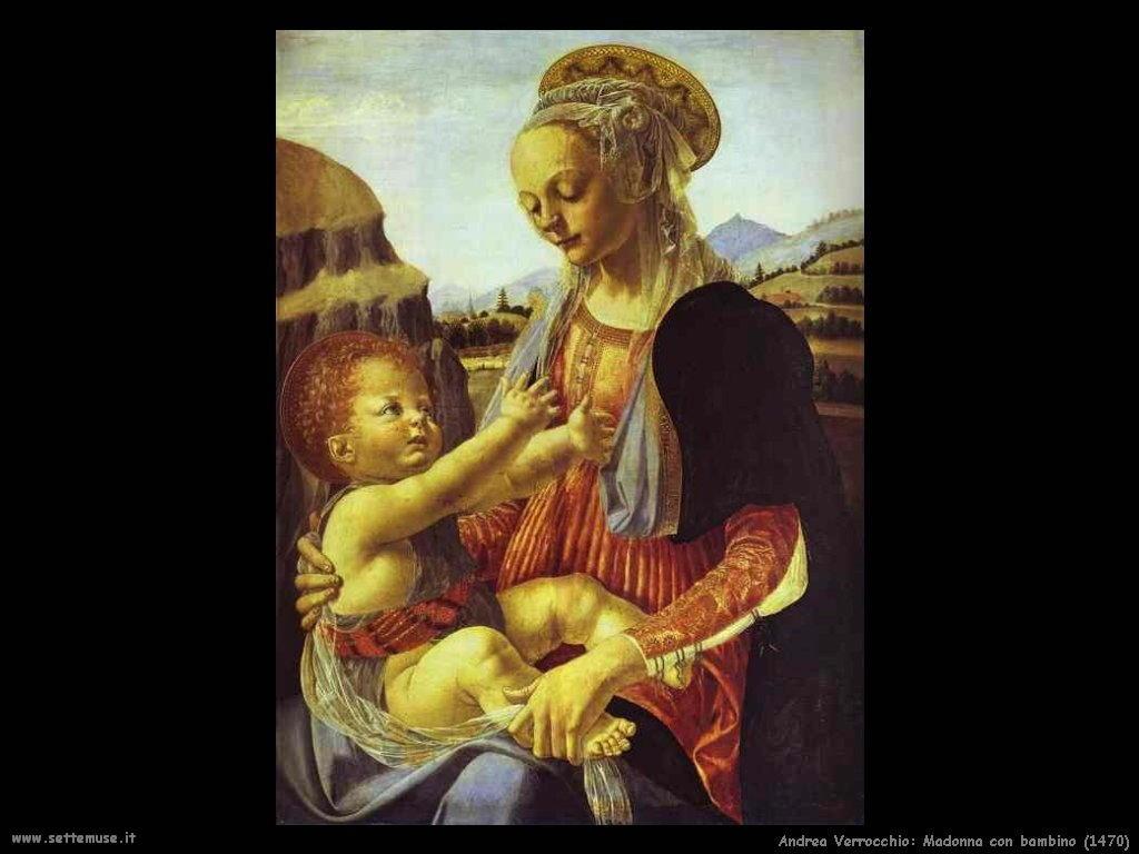 Madonna con bambino (1470)