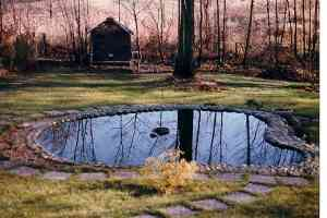 Il giardino nei primi anni '80