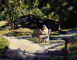 La disperazione è seduta su una panchina di Jacques Prévert