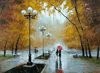 Pioggia di Gracia Lorca