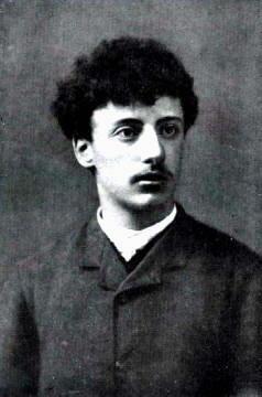 Gabriele D'Annunzio da giovane