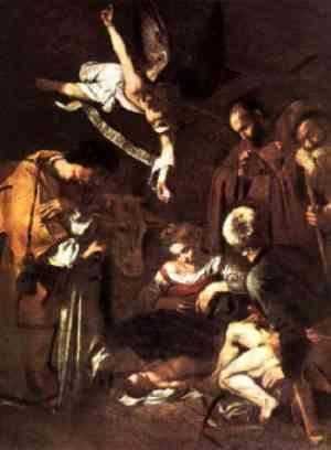 La buona novella - Caravaggio