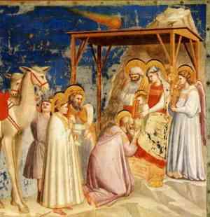 Gesù bambino - Giotto -  Natale