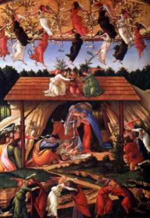 La notte di Natale  - Botticelli