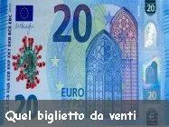 Enrico Riccardo Spelta quel biglietto da venti - coronavirus