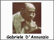 Gabriele D'Annunzio biografia e poesie