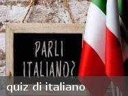 quiz di italiano