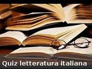 quiz di letteratura italiana