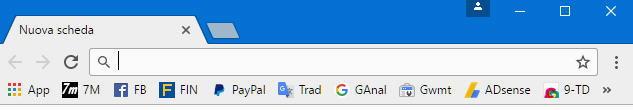 Menu di Chrome