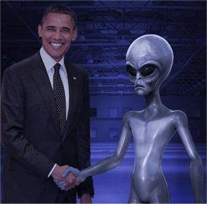 incontro con un alieno