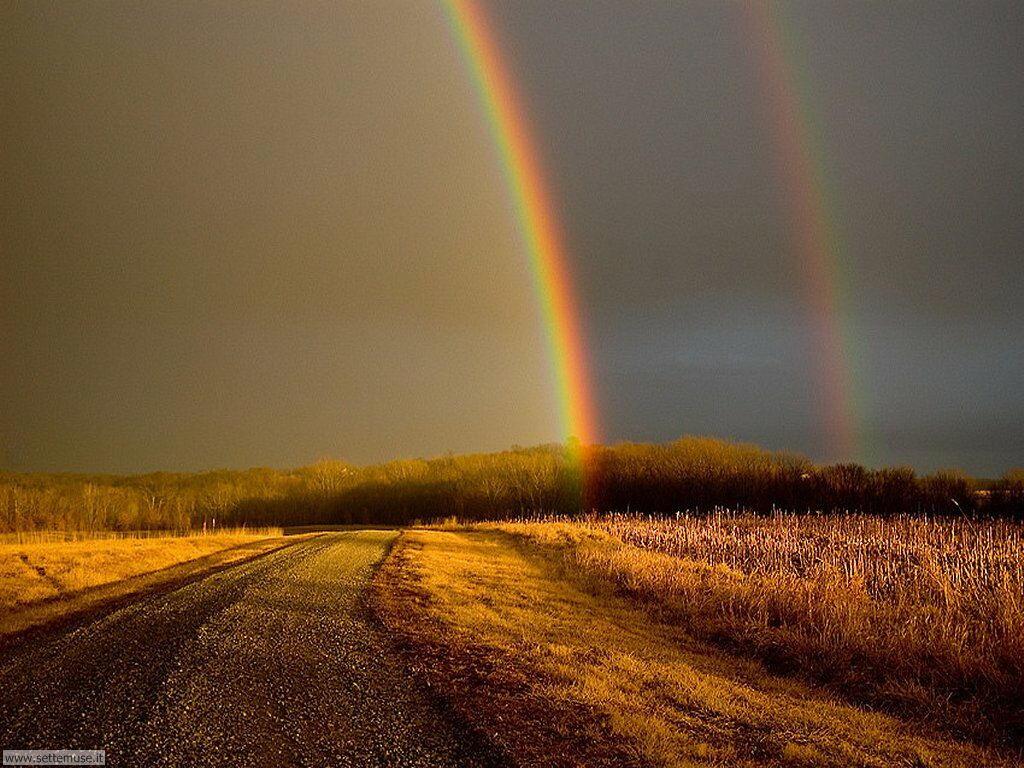 Sfondi desktop di arcobaleni 002