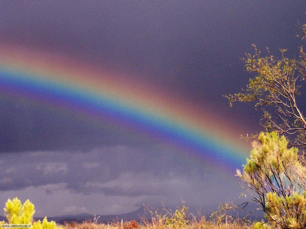 Sfondi desktop di arcobaleni 005