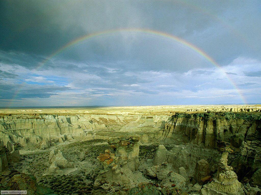 Sfondi desktop di arcobaleni 006