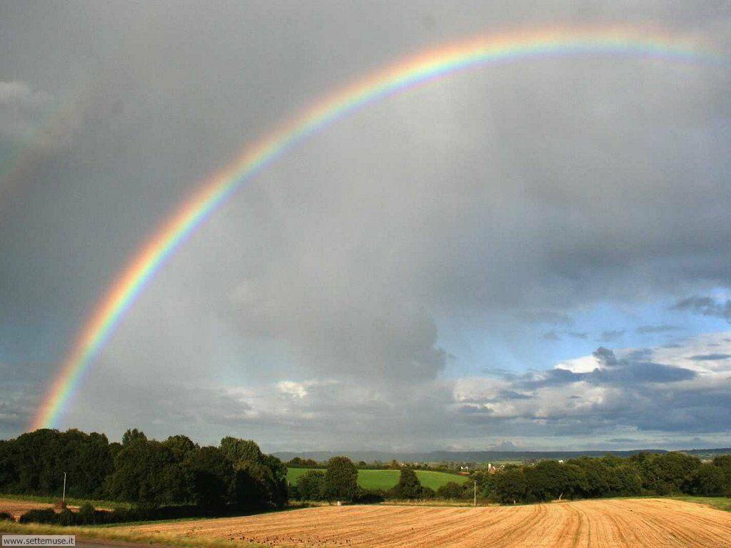 Sfondi desktop di arcobaleni 007
