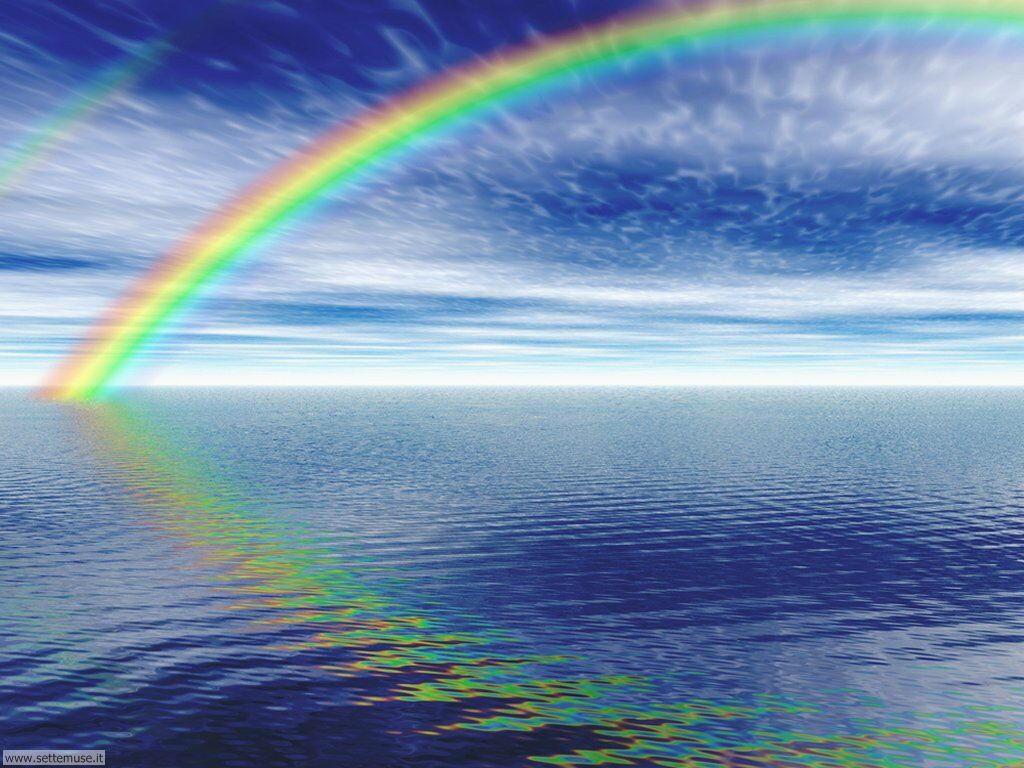 Foto arcobaleni per sfondi desktop for Desktop gratis mare