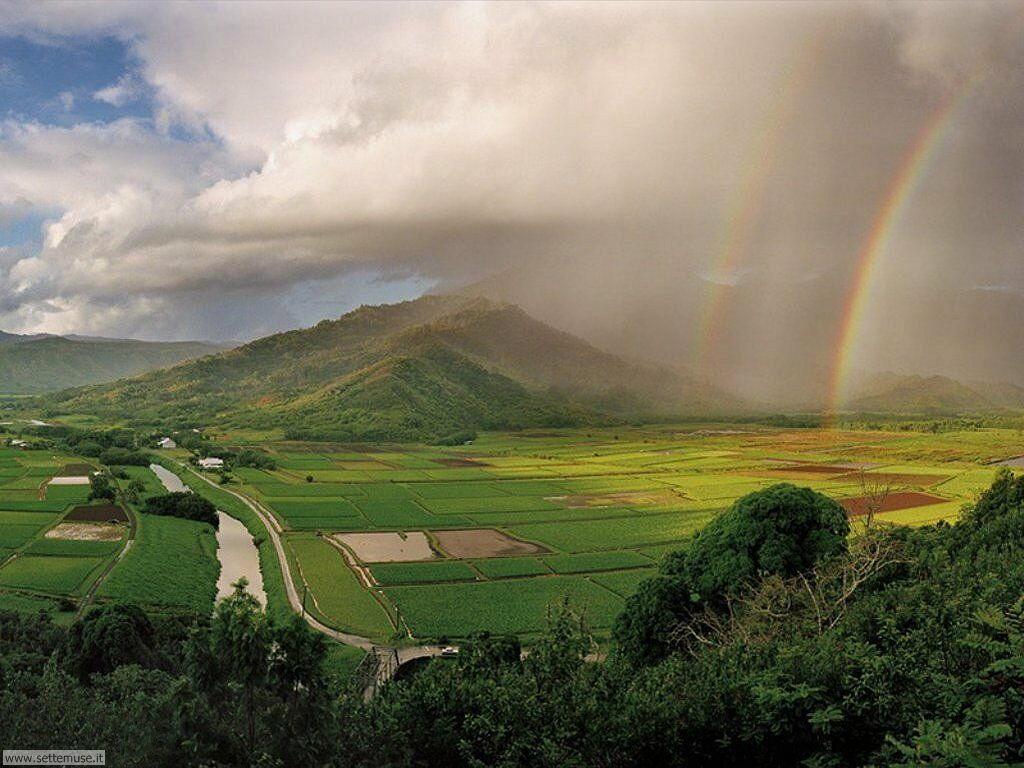 Sfondi desktop di arcobaleni 013